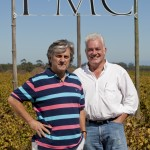 Martin & Ken in FMC vineyard
