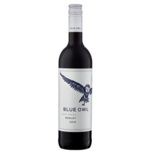 Allee Bleue Blue Owl Merlot 2018 Bottle
