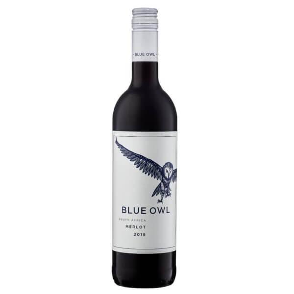 Allee Bleue Blue Owl Merlot 2018 Bottle