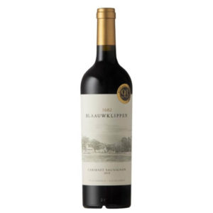 Blaauwklippen Cabernet Sauvignon 2018 Bottle