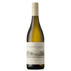 Blaauwklippen Sauvignon Blanc 2020 Bottle