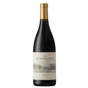Blaauwklippen Shiraz 2018 Bottle