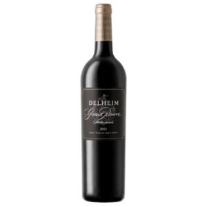 Delheim Grand Reserve 2015 Bottle
