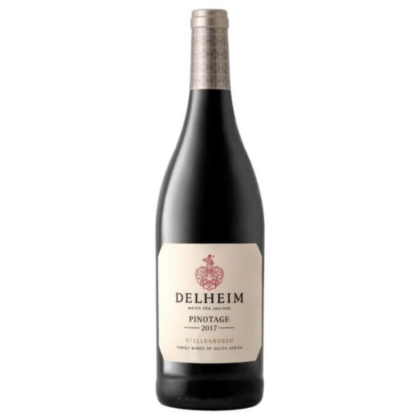 Delheim Pinotage 2017 Bottle