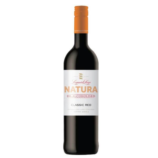 Natura De Alcoholised Red NV by Leopards Leap Bottle