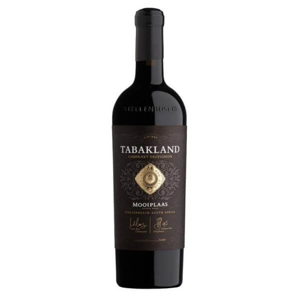 Mooiplaas Tabakland Cabernet Sauvignon 2015 Bottle