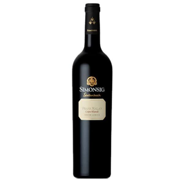 Simonsig Frans Malan Cape Blend 2016 Bottle